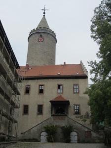 Die Leuhtenburg - die Renovierung läuft, das Museum ist weiter offen