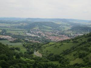 Blick vom Turm der Leuchtenburg