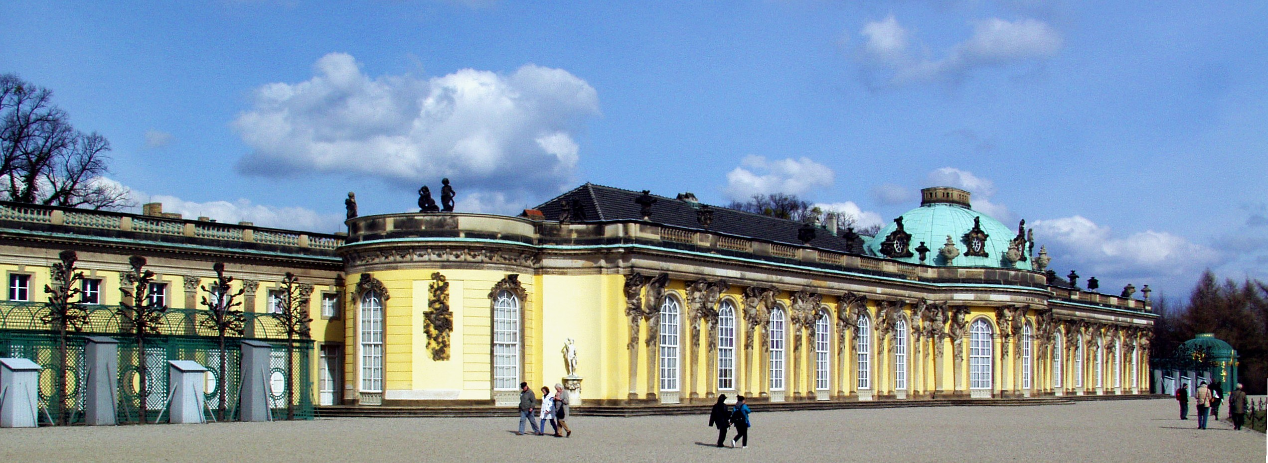Schloss Sanssouci in Potsdam, Germany
