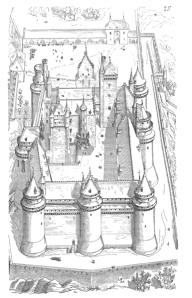 Entwurfzeichnung von Violett-le-Duc (Wikipedia, gemeinfrei)