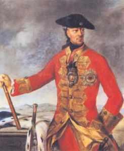 Wilhelm von Schaumburg Lippe in der Uniform eines britischen Feldmarschalls