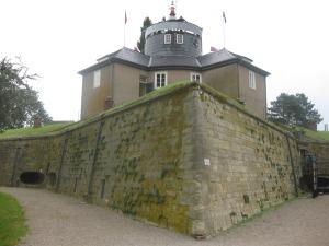 Die Festung Wilhelmstein mit dem Kommandantenschlösschen