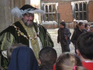 Von den Royals lernen: König und Nachwuchs